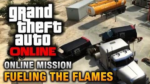 GTA Online - Mission - Fueling the Flames Hard Difficulty