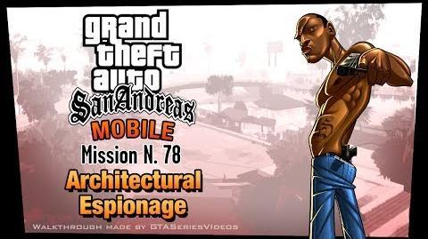 GTA San Andreas - iPad Walkthrough - Mission 78 - Architectural Espionage (HD)