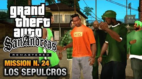 GTA San Andreas Remastered - Mission 24 - Los Sepulcros (Xbox 360 PS3)