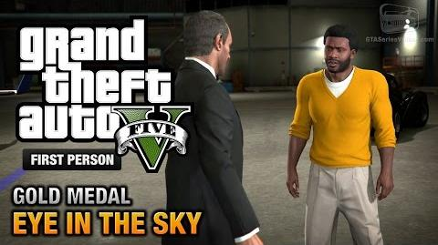 GTA 5 - Mission 44 - Eye in the Sky First Person Gold Medal Guide - PS4