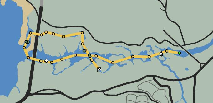 Delta V GTAO Race Map.png