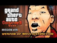 GTA Chinatown Wars - Mission -29 - Weapon of Mass Distraction