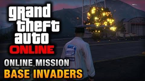 GTA Online - Mission - Base Invaders Hard Difficulty