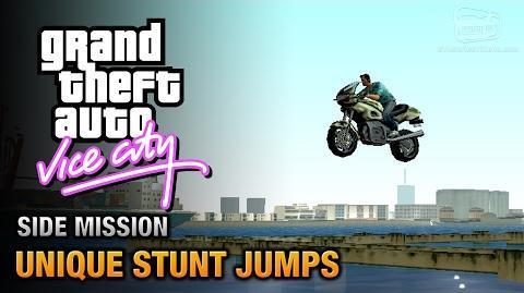 GTA Vice City - Unique Stunt Jumps Daredevil Trophy Achievement