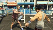 Switch Scenes GTAVe Trevor Muscle Fight