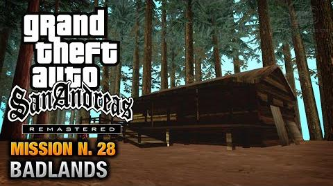 GTA San Andreas Remastered - Mission 28 - Badlands (Xbox 360 PS3)