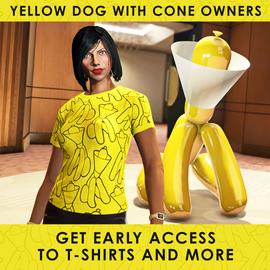 YellowDogwithConeEarlyAccessItems-GTAO-Advert