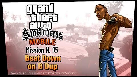 GTA San Andreas - iPad Walkthrough - Mission 95 - Beat Down on B Dup (HD)