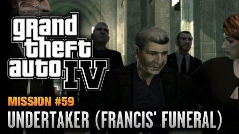 GTA 4 - Mission 59 - Undertaker Francis' Funeral (1080p)