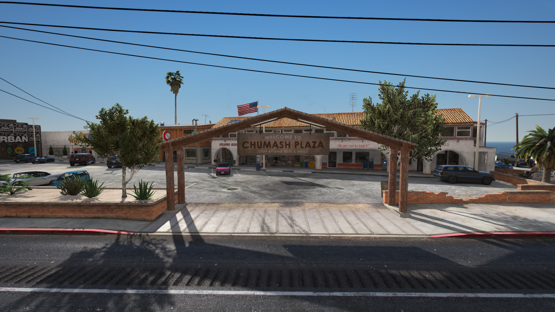 Chumash Plaza