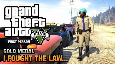 GTA 5 - Mission 41 - I Fought the Law..