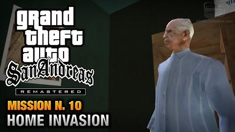 GTA San Andreas Remastered - Mission 10 - Home Invasion (Xbox 360 PS3)