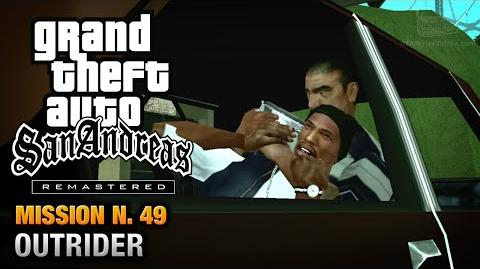 GTA San Andreas Remastered - Mission 49 - Outrider (Xbox 360 PS3)