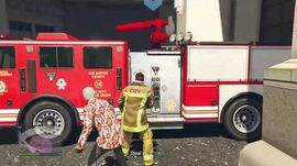 Exit Disguise Firefighter Gear (Heist Prep Mission) - GTA Online - The Diamond Casino Heist