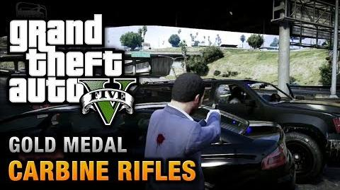 GTA 5 - Mission 12 - Carbine Rifles 100% Gold Medal Walkthrough