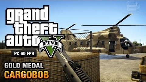 GTA 5 PC - Mission 31 - Cargobob Gold Medal Guide - 1080p 60fps
