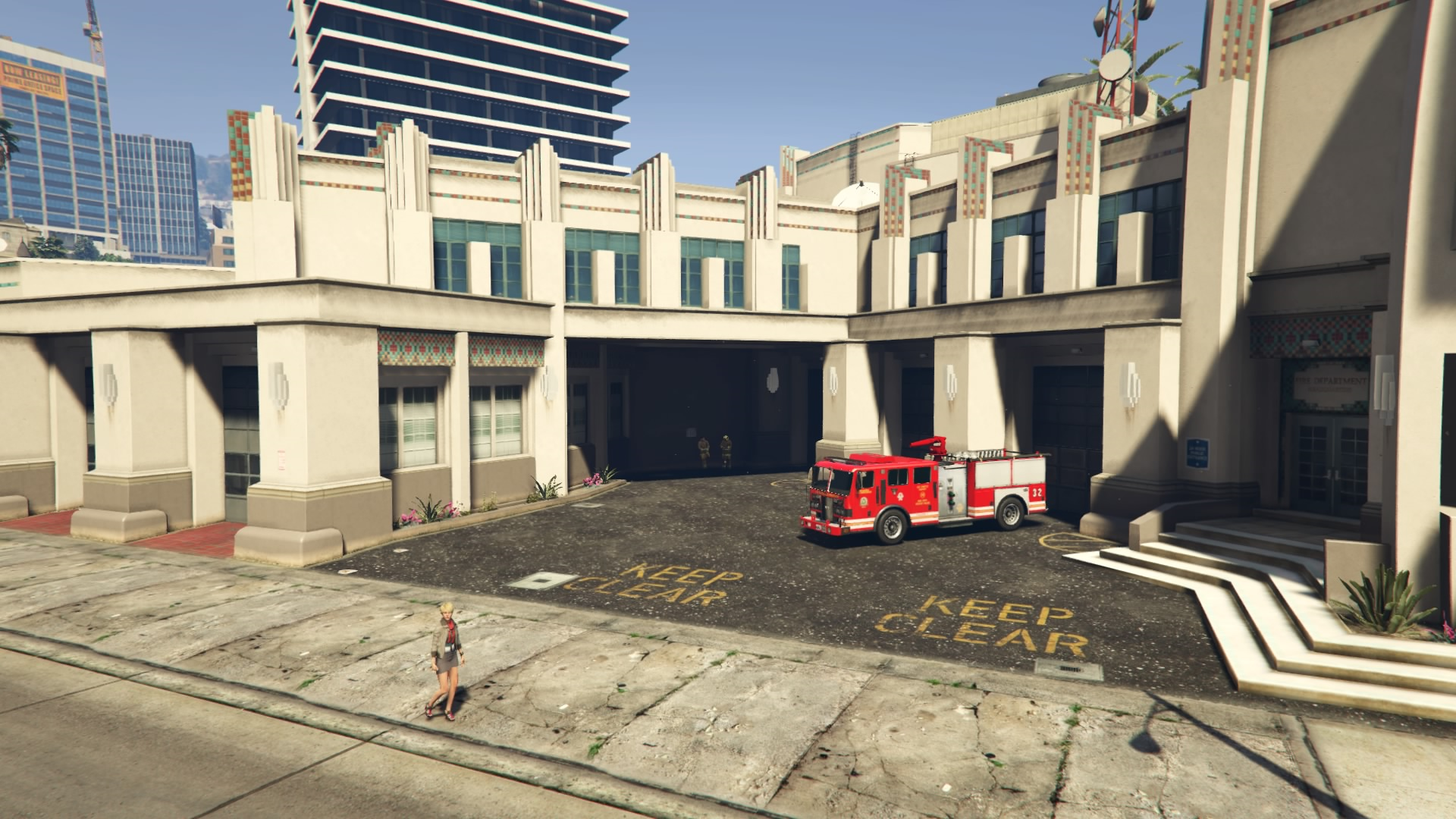 Rockford Hills Fire Station