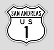 1948 Style US Route 1 Shield