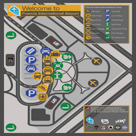 FrancisIntnlAirport-GTAIV-Map