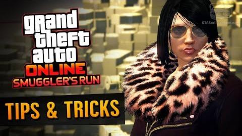 GTA Online Guide - How to Make Money with Smuggler's Run