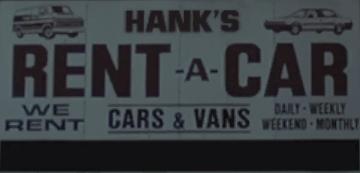 Hank's Rent-A-Car