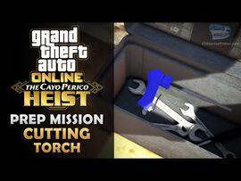 GTA Online- The Cayo Perico Heist Prep - Cutting Torch -Solo-