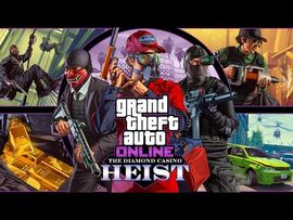 GTA Online The Diamond Casino Heist - Heist Prep Security Pass Solo (Cleaning Contractor)