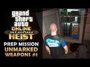 GTA Online- The Cayo Perico Heist Prep - Unmarked Weapons (Gun Locker) -Solo-