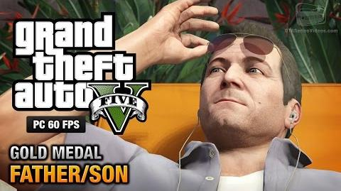 GTA 5 PC - Mission 4 - Father Son Gold Medal Guide - 1080p 60fps