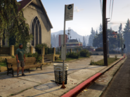 Bus Stop Paleto Pay GTAV