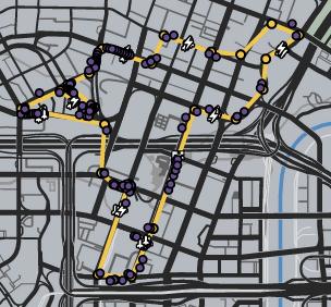 GTAO-Cheetah Grand Prix Map.png