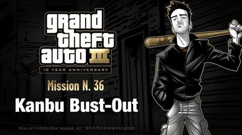 GTA 3 - iPad Walkthrough - Mission 36 - Kanbu Bust-Out