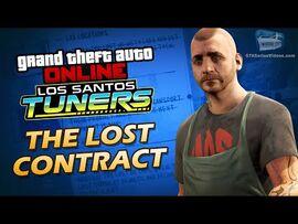 GTA Online- Los Santos Tuners - The Lost Contract -Solo-