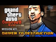 GTA Chinatown Wars - Mission -21 - Driven to Destruction