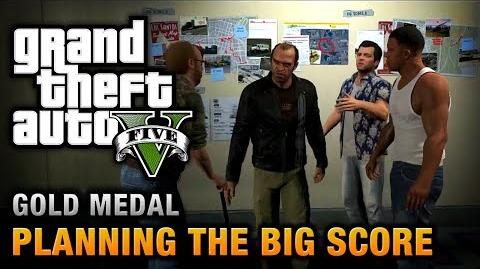 GTA 5 - Mission 76 - Planning the Big Score (Obvious) 100% Gold Medal Walkthrough