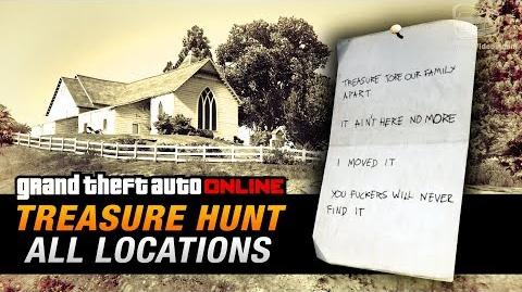 GTA Online Treasure Hunt - All 20 Locations -Double-Action Revolver-
