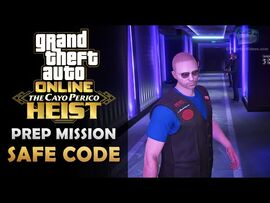 GTA Online- The Cayo Perico Heist Prep - Safe Code -Solo-