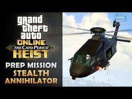 GTA Online- The Cayo Perico Heist Prep - Stealth Annihilator & Pilot -Solo-