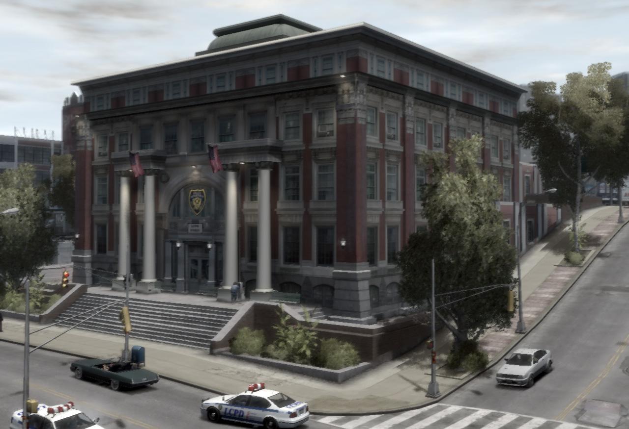 East Island City Police Station