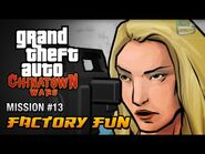 GTA Chinatown Wars - Mission -13 - Factory Fun (PSP Exclusive)
