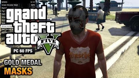 GTA 5 PC - Mission 36 - Masks Gold Medal Guide - 1080p 60fps