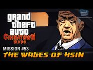 GTA Chinatown Wars - Mission -53 - The Wages of Hsin