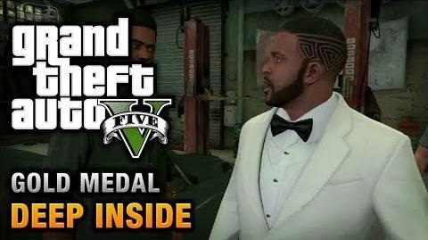 GTA 5 - Mission 46 - Deep Inside 100% Gold Medal Walkthrough