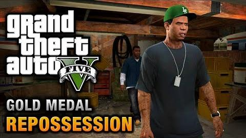 GTA 5 - Mission 2 - Repossession 100% Gold Medal Walkthrough