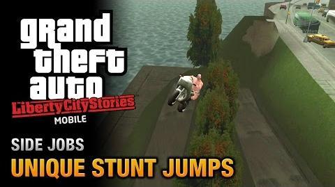 GTA Liberty City Stories Mobile - Unique Stunt Jumps