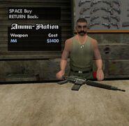 M4-GTASA-AmmuNation