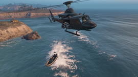 TheCayoPericoHeist-GTAO-Escape-Dinghy-UnderAttack