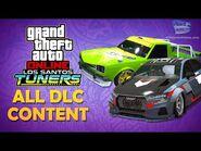GTA Online- Los Santos Tuners - All DLC Content -Vehicles, Clothes, Masks, & More-