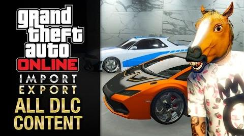 GTA Online Import Export Update All DLC Contents