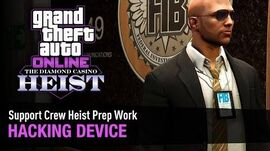 GTA Online The Diamond Casino Heist - Heist Prep Hacking Device Solo (FIB Building)